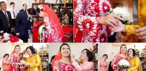 chụp rước dâu