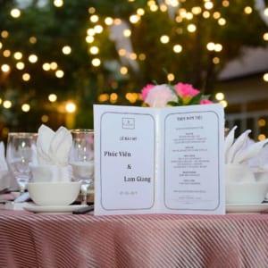 Chụp ảnh phóng sự tiệc cưới nhà hàng Le Jardin