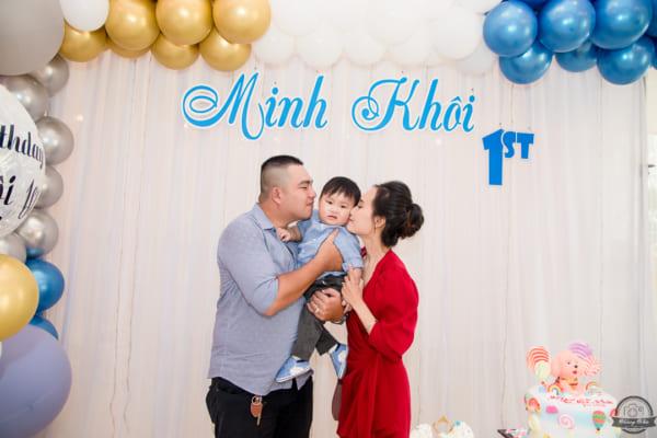 CHỤP HÌNH THÔI NÔI bé Minh Khôi | nhà hàng Minh Phú