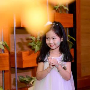 Chụp hình sinh nhật bé Kim Ngân | Nhà hàng Dìn Ký