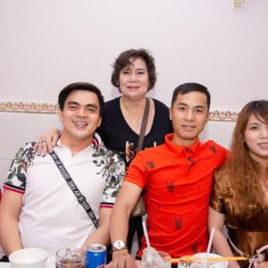 Chụp hình sinh nhật mẹ Yêu - Nhà hàng Vọng Các