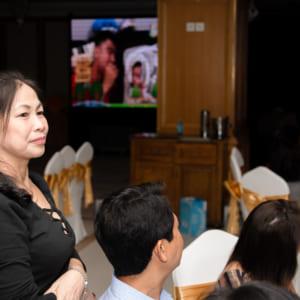 Chụp hình thôi nôi bé ANDY - Nhà hàng Long Biên Place