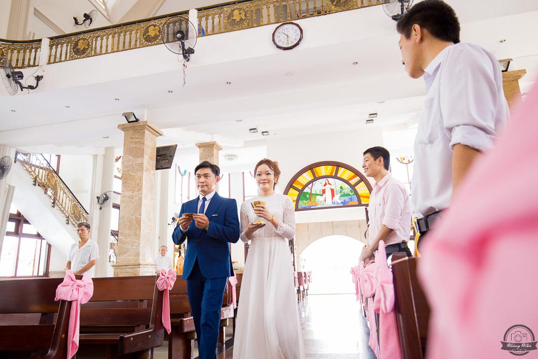 chụp hình cưới Hôn Phối nhà thờ