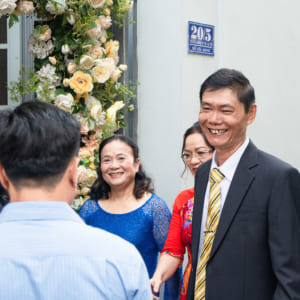 Chụp hình đám hỏi Thanh Ngọc - Hữu Yên