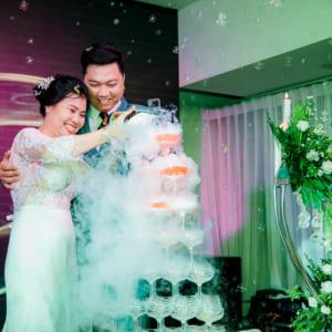 Chụp hình tiệc cưới Minh Chương - Bích Lệ | Nhà hàng Bách Việt