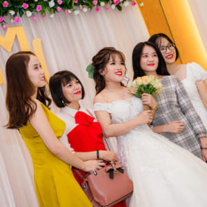 Chụp hình tiệc cưới - Tú Mạnh - Mỹ Linh   The Adora Nguyễn Kiệm