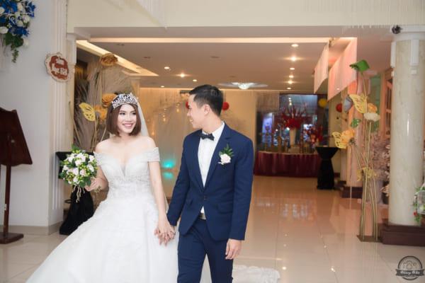 Chụp ảnh tiệc cưới báo hỷ Văn Hậu – Ngọc Hà | Ánh Mai Palace