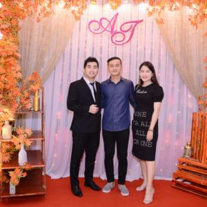 Chụp hình tiệc cưới An - Tâm | Diamond Place