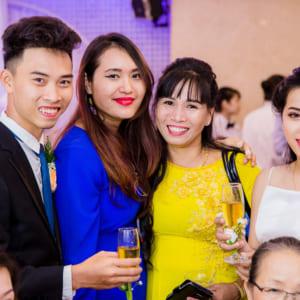 Chụp hình tiệc cưới Gia Luân & Băng Châu   Nhà hàng Bách Việt