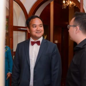 Chụp hình tiệc cưới Phi & Thư