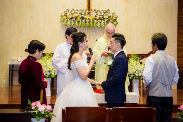 Quay phim tiệc cưới HCM
