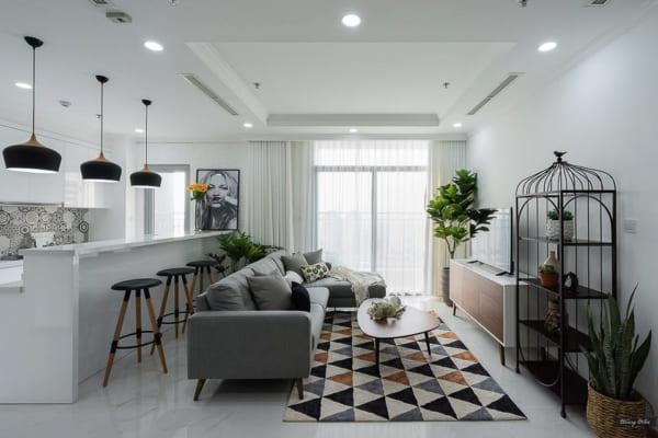 Dịch vụ chụp hình nội thật căn hộ chung cư giá rẻ