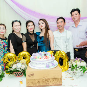 Chụp ảnh tiệc sinh nhật Hải Yến | Quán 210 Lê Hồng Phong
