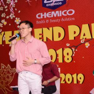 Chụp hình tất niên Công ty CHEMICO