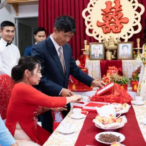 Chụp ảnh phóng sự Lễ Ăn Hỏi TPHCM