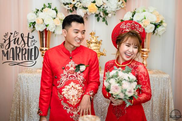 Chụp ảnh phóng sự Lễ cưới + Tiệc Tân Hôn Đức Long & Kim Vân | Sài Gòn – Vũng Tàu