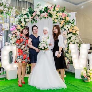 Chụp ảnh tiệc mừng báo hỷ Ari & A hah | Nhà hàng Unique - Phạm Văn Hai