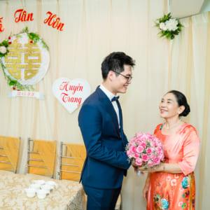 Chụp phóng sự cưới lễ đón dâu Huy Bình & Huyền Trang - quận Gò Vấp, TP.HCM