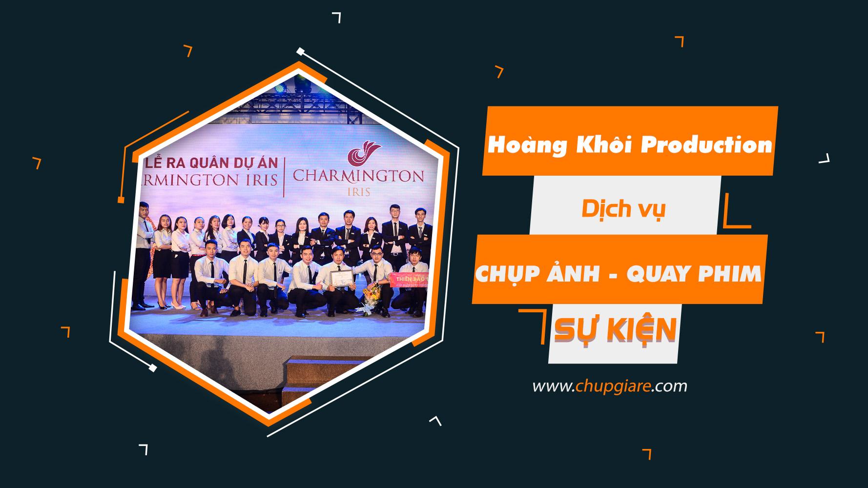 Banner chụp hình quay phim sự kiện Hoàng Khôi Production