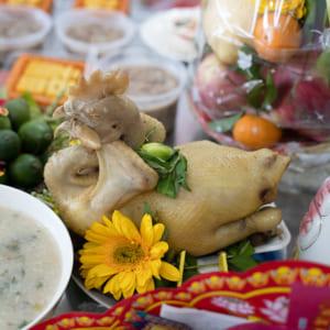 Chụp hình lễ cúng và tiệc mừng thôi nôi bé Sony | Nhà hàng Nam Bộ