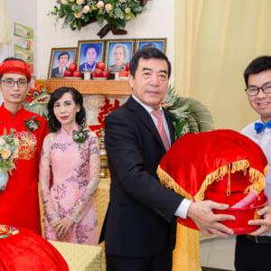 chụp ảnh phóng sự lễ cưới Hôn Phối và tiệc mừng nhà hàng Metropole