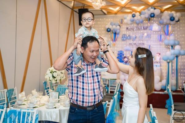 Chụp ảnh phóng sự Lễ cúng & Tiệc mừng thôi nôi bé Mỡ | Nhà hàng Nam Bộ Tô Hiến Thành