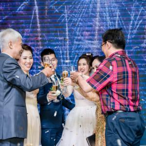 Chụp hình tiệc cưới Bảo Anh & Như Quỳnh | Nhà hàng Adora Luxury