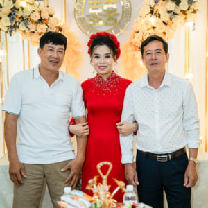 Chụp hình truyền thống hiện đại đám hỏi Thanh Ngân & Văn Cường