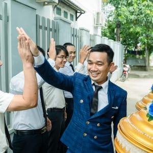 chụp ảnh phóng sự đám hỏi Tùng & Tuyết tại huyện Hóc Môn