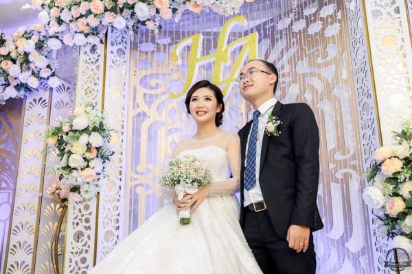 Chụp phóng sự tiệc báo hỷ Đức Hạnh & Ngọc Ánh | Nhà hàng Oscar Palace – Quận Tân Bình
