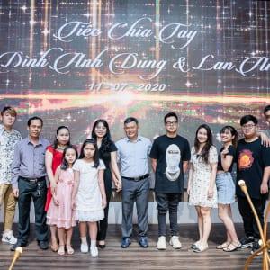 Chụp hình sự kiện tiệc chia tay gia đình | Nhà Chụp hình sự kiện tiệc chia tay gia đình | Nhà hàng Gala Centerhàng Gala Center