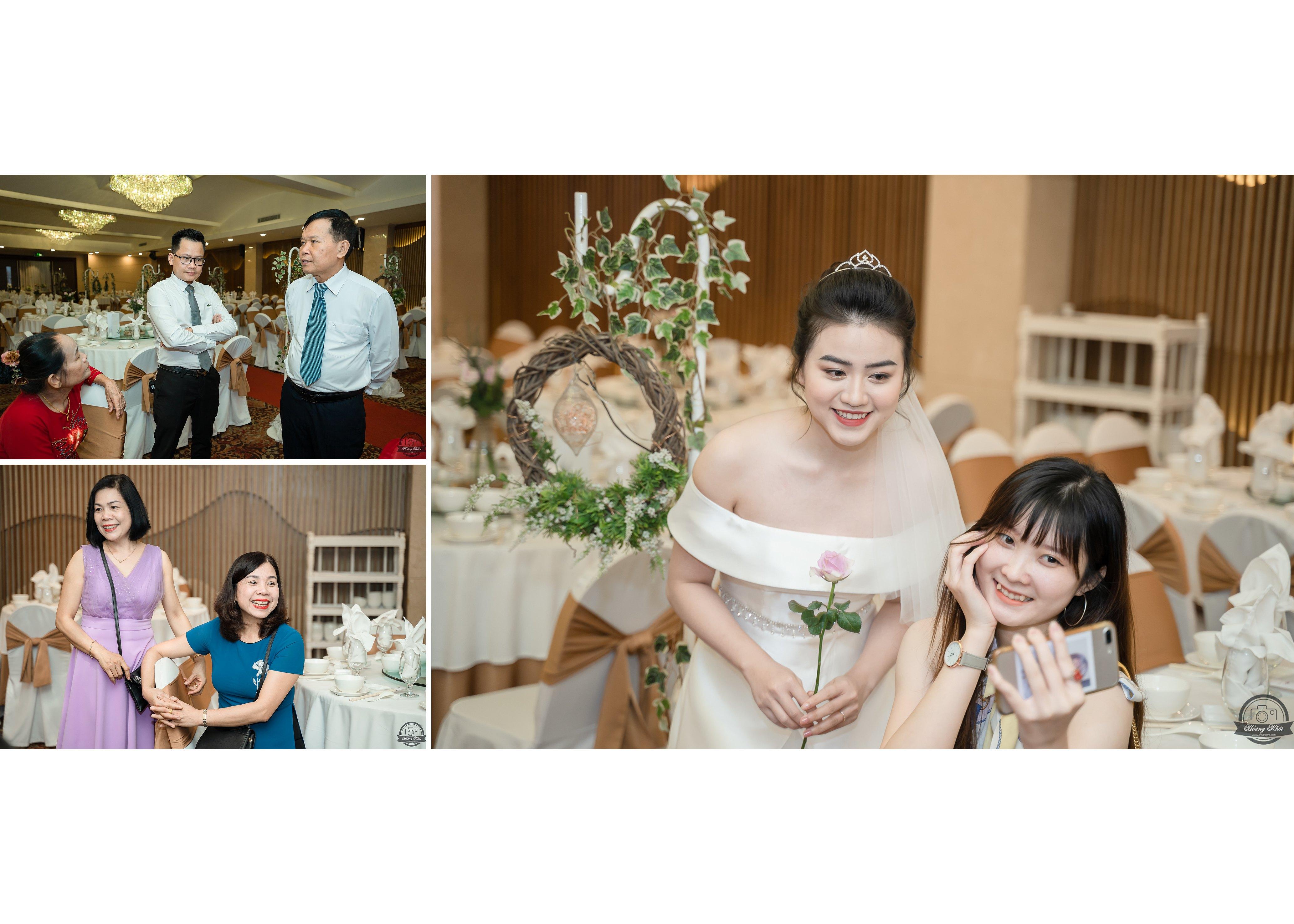 Chụp ảnh phóng sự tiệc cưới Thành & Anh | Nhà hàng Bách Việt