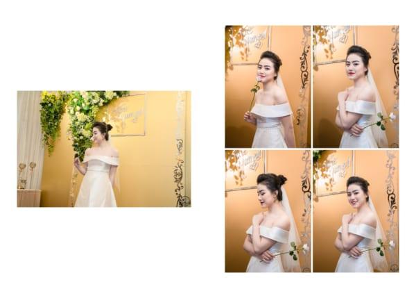 Chụp ảnh phóng sự tiệc cưới Huy Thành & Kiều Anh | Nhà hàng Bách Việt