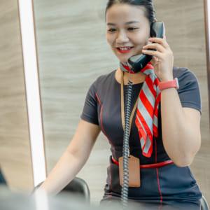 Chụp hình hồ sơ năng lực nhân viên chung cư Phú Mỹ Hưng
