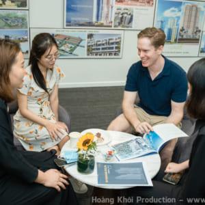 Chụp hình sự kiện giới thiệu sản phẩm bất động sản