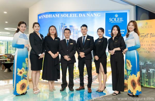 Chụp hình sự kiện Giới thiệu – Mở bán sản phẩm dự án Wyndham Soleil Đà Nẵng
