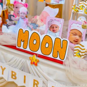 Chụp phóng sự tiệc bé Moon tại Glorious