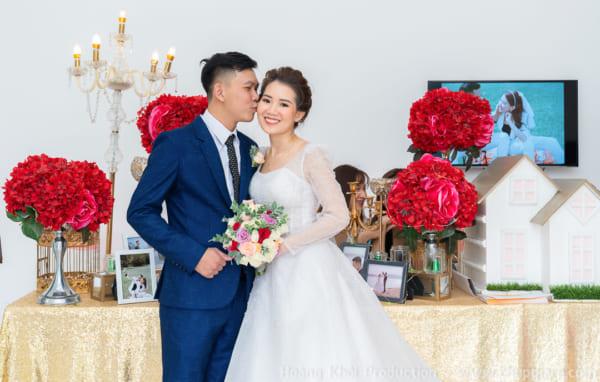Chụp hình tiệc cưới Lễ Vu Quy Lan Hương & Thành Trung