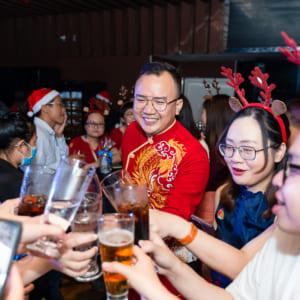 Báo giá chụp ảnh sự kiện công ty vui chơi noel