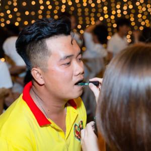 Chụp ảnh tiệc tất niên công ty Pringles đẹp 2021