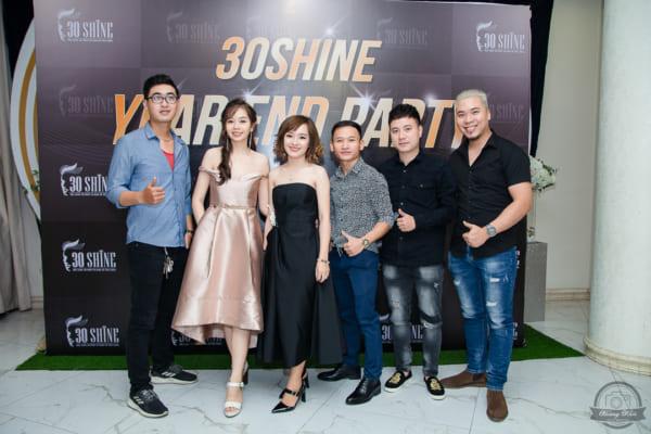 Tham khảo Dịch vụ chụp ảnh tiệc tất niên Salon tóc nam 30SHINE tại HCM