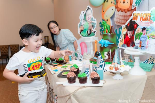 Chụp hình phóng sự Tiệc sinh nhật 5 tuổi cho bé Brian | Nhà hàng Ocean Palace