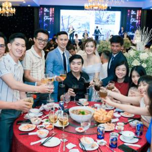 Chụp hình phóng sự tiệc cưới đẹp tại nhà hàng quận Gò Vấp