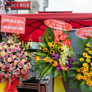 Chụp hình sự kiện khai trương quán ăn pizza tại quận Tân Phú