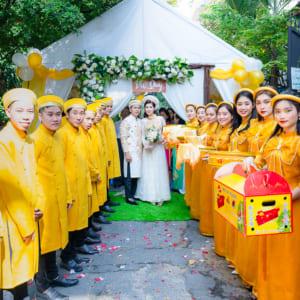 Chụp ảnh phóng sự rước dâu đám cưới đẹp tại Đức Hoà, Long An