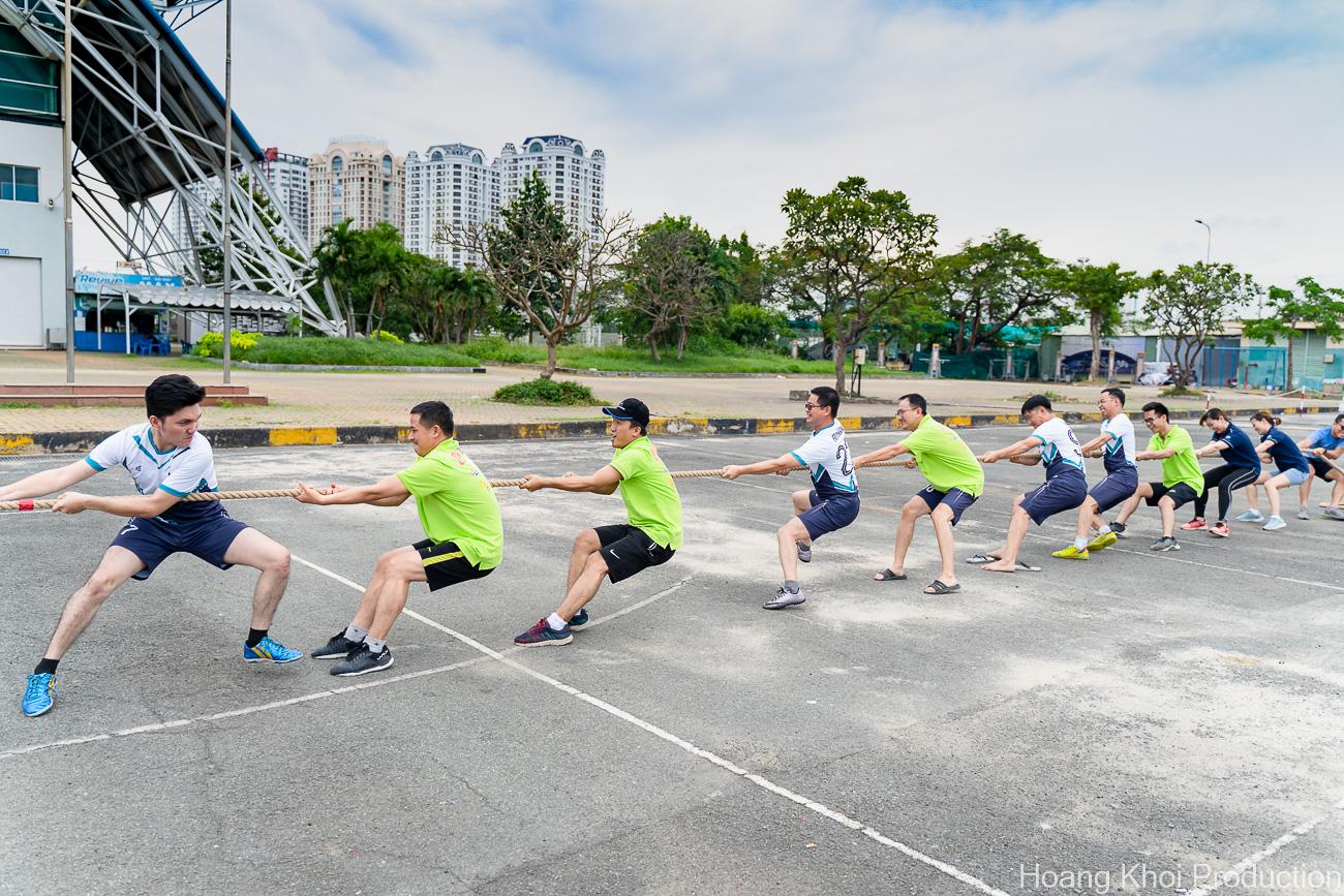 Chụp hình sự kiện hội thao công ty tại NTĐ Phú Thọ