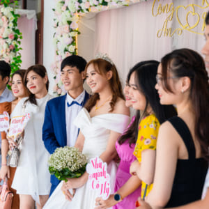Chụp phóng sự ngày cưới quận 12   Nhà hàng Ngọc Trâm