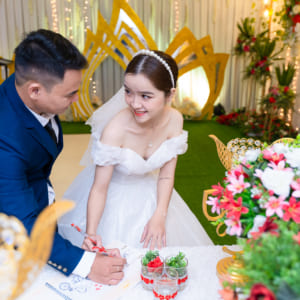 Chụp ảnh tiệc báo hỷ nhà hàng Happy Gold quận Tân Phú