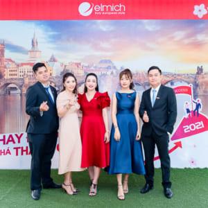 chụp hình sự kiện year end party công ty Elmich