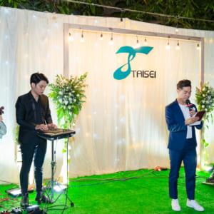 chụp hình tiệc tất niên công ty TAISEI   Nhà hàng ZumWhere